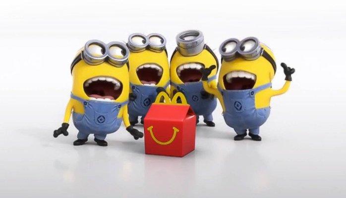 Minions McDonald's
